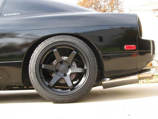 1992 Nissan 240sx Hatch Wheels And Tires